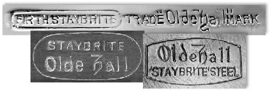Staybrite Backstamps